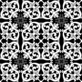 Teste padrão floral abstrato — Vetor de Stock