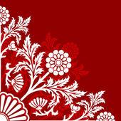 Soyut çiçek — Stok Vektör