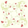 Floral scroll pattern — Stock Vector #12000945