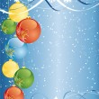 Abstract Vector Christmas Background - Stok Vektör