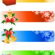 Christmas banner - Vettoriali Stock 