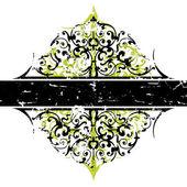 抽象 grunge 饰品 — 图库矢量图片