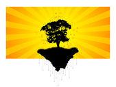 Abstract Tree — Stock Vector