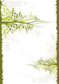 Floral Background — Stok Vektör