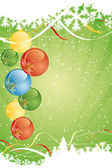 Abstract Christmas Background — Vettoriale Stock
