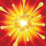 Explosion — Stock Vector