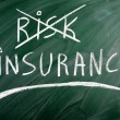 Stock Photo: Insurance risk