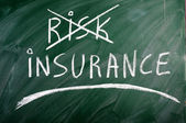 Insurance risk — Stock Photo