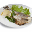 Royalty-Free Stock Photo: Baked Sea Bream