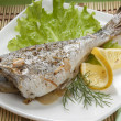 Baked Sea Bream — Stock Photo #11398525