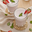 Strawberry shake - Stockfoto
