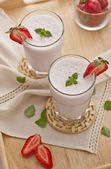 Strawberry shake — Stock Photo