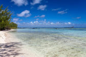 Quiet bay of the island Gabriel. Mauritius. — Stock Photo