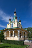 "Church for the sake of the Mother of God icon ""All grieving pleasure"". Russia. Petersburg. — Stock Photo"