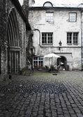 Old houses on the Old city. Tallinn. Estonia — Stock Photo