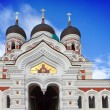 Alexander Nevsky Cathedral. Old city, Tallinn, Estonia. - Stock Photo