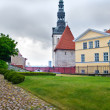 Old city, Tallinn, Estonia. Dome cathedral-the oldest church of Tallinn. — Stock Photo