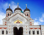 Alexander Nevsky Cathedral. Old city, Tallinn, Estonia. — Stock Photo