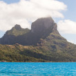Stock Photo: Seand Otemanu mountain . Bora-Bora. Polynesia