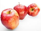 Trois pommes juteuses — Photo