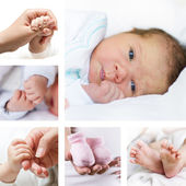 Baby kollektion — Stockfoto