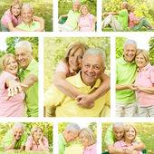 年配のカップル — ストック写真