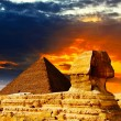 Great Sphinx — Stock Photo