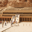 Temple of Queen Hatshepsut - Stock Photo