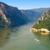 Iron Gate Danube — Stock Photo