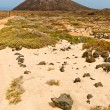 Island of Lobos in Fuerteventura, Canary Islands, Spain — Stock Photo