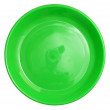 Green plate — Stock Photo