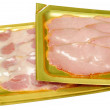 Packed meat - Foto Stock