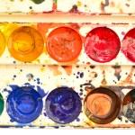 kleur pallet — Stockfoto