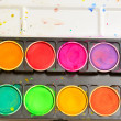 Stock Photo: Color pallet