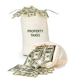 Property taxes — Stockfoto