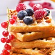 Stack of waffles — Stockfoto