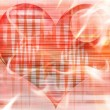 Abstract heart background — Stock Photo #11394336