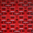 Red wooden door — Stock Photo