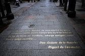 Calle de las Huertas — Stock Photo