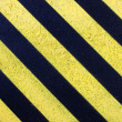 Stock Photo: Yellow road mark