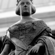 Isabel II statue — Stock Photo