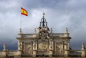 Royal palace Madrid — Stock Photo