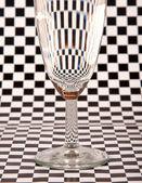 Close-up of champaigne glass — Stock Photo