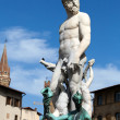 Florence - Statue of Neptune — Stock Photo #10784816