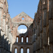 Abbey of San Galgano, Tuscany, Italy - Stock Photo