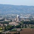 Stock Photo: Panoramic view of Assisi. Umbria.