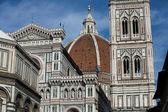 佛罗伦萨-大教堂及钟楼 — 图库照片