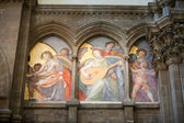 Florence - the interior of Duomo — Stock Photo