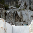 The Marble Quarries - Apuan Alps , Carrara — Stockfoto