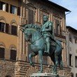 Stock Photo: Florence, PiazzdellSignoria